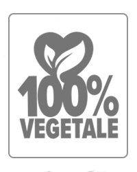100% vegetable mark