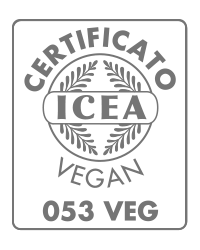 Reolì products are ICEA Vegan certified