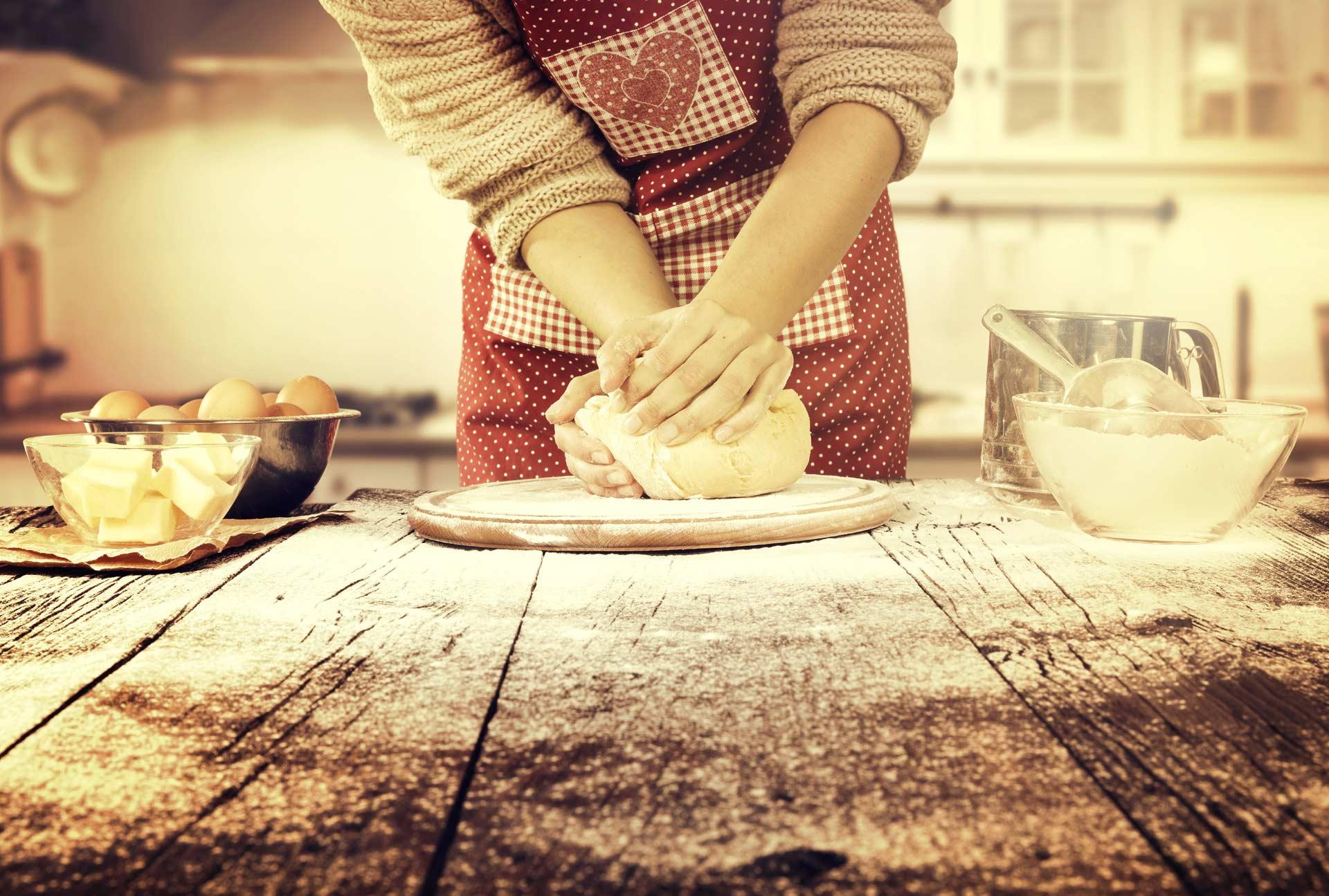usare reolì per preparati dolci e salti