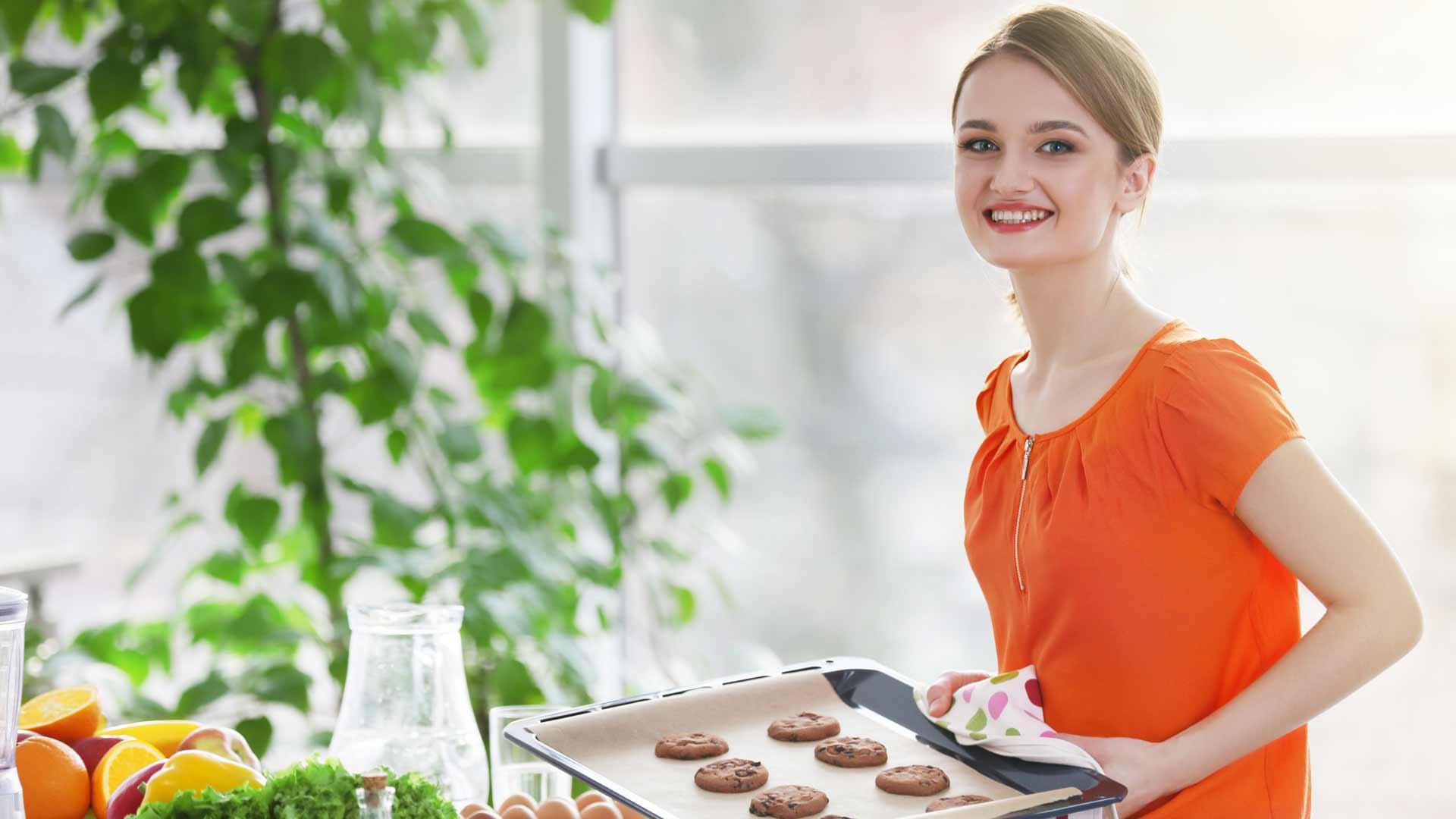 usare olio spalmabile reolì per fare i biscotti in casa