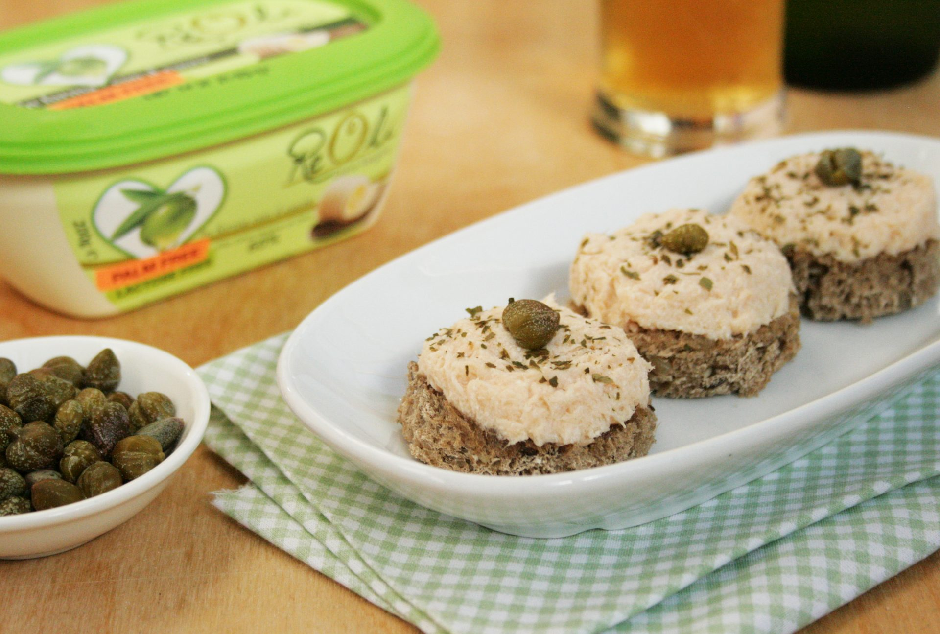 picture of recipeCrostini con mousse di salmone