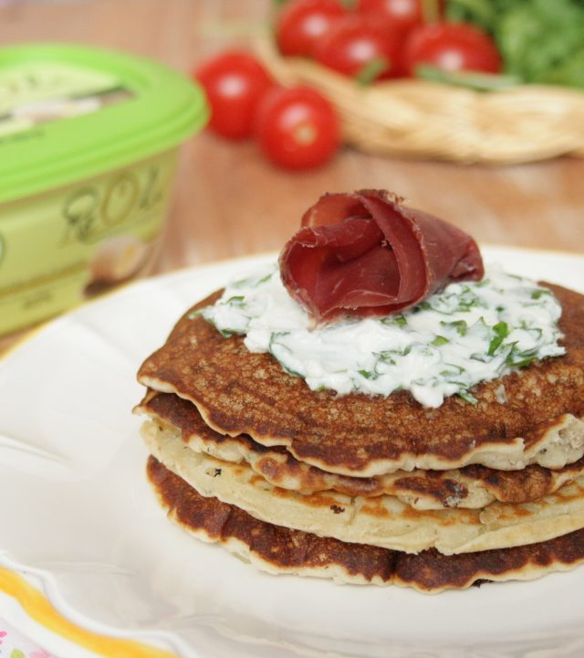 picture of recipePancake salatimade withReolì Extravergine