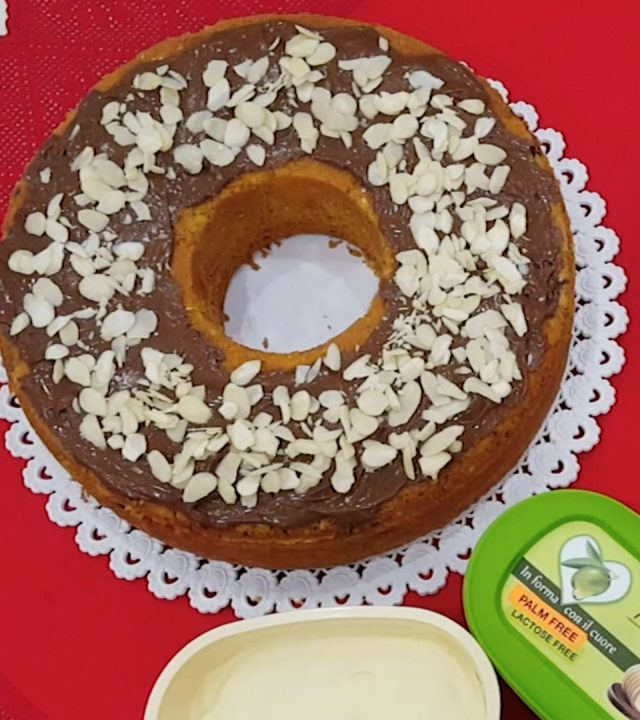 immagine della ricettaTorta mele e mandorlerealizzata conReolì Extravergine