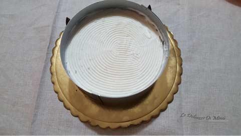 preparazione della cheesecake con coulis di albicocche senza burro passo 13