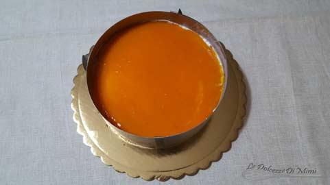 preparazione della cheesecake con coulis di albicocche senza burro passo 16