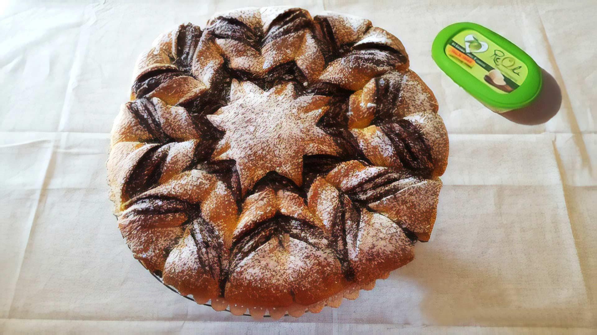 picture of recipeFiore di pan brioche alla nutella