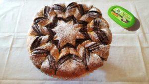 immagine dell'articoloFiore di pan brioche alla nutella